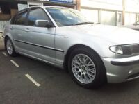 BMW 318ISE WITH UPRATED 16 INCH DTM ALLOYS AND PRIVACY GLASS 2003 8SERVICE STAMPS NOT 1895 ONLY 950!
