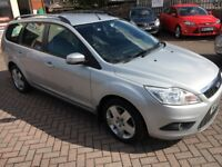 Ford Focus 1.6 Turbo Diesel Estate Immaculate Condition, Air Con, RAC Warranty, Service History.