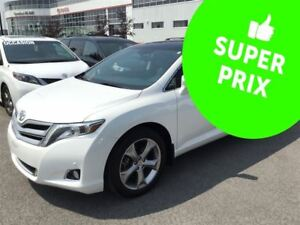 2015 Toyota Venza V6 4WD Limited GPS+JBL+Cuir+Toit Pano+Camera
