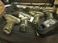 Drills makita10.8v impacts, drills and radio