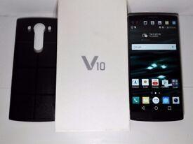 LG V10 H900 64GB Black 3G 4G LTE Sim Free 4GB RAM - Unmarked As New - Unlocked to all networks