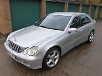 Mercedes Benz C240 Avantgarde **one owner from new *** only 65k miles***