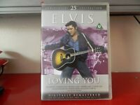 25th ANNIVERSARY CELEBRATION EDITION OF ELVIS IN LOVING YOU DVD