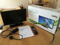 Television TV for caravan or camper van