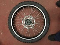 Off road front wheel (noble)