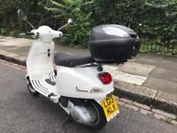 PIAGGIO VESPA LX 125cc is 3v white 2013 low Mielage!!