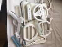 Wii fit and accessories