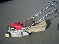 "to clear honda hr194 16"" roller mower"