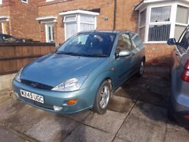 Ford Focus,1.6 petrol,Automatic gearbox,Very good car,low mileage