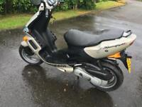 LOW MILES PEUGUEOT SPEEDFIGHT 100 LEARNER LEGAL MOPED!! BARGAIN!!!