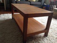"Laura Ashley ""Brompton"" oak coffee table"