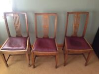 X4 dining room chairs