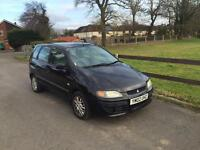 2002 Mitsubishi Space Star 1,6 litre 5dr automatic