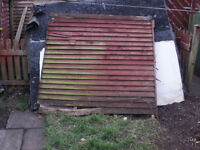 Wooden Shed parts for free bonfire