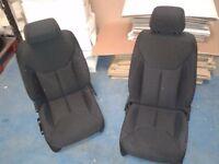 JEEP Wrangler JK Front Seats Pair 4 door USED