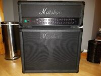 Marshall JVM 410H with Marshall 1936 2x12 Speaker Cabinet