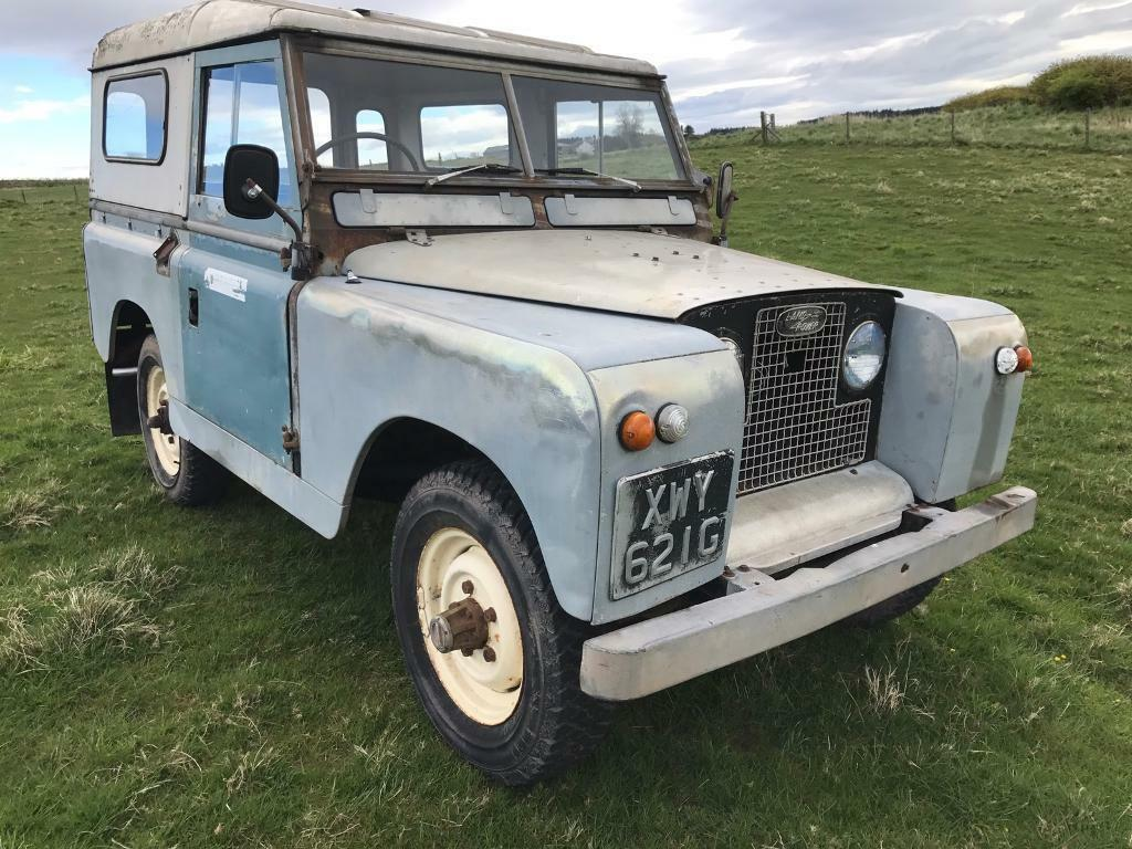 land rover series 2 a lovely running old landy 12 mths mot in auchterarder perth and kinross. Black Bedroom Furniture Sets. Home Design Ideas