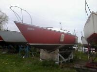 C & C 25  Sailboat