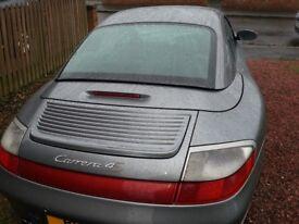 Porsche 911 (996) CARRERA 4S TIPTRONIC S WIDE BODY CABRIOLET + HARDTOP, MANUAL
