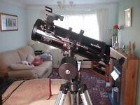 Second hand skywatcher telescope for sale.