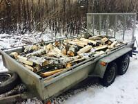 Poplar/Birch Firewood Delivered