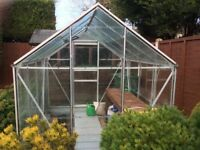 GREENHOUSE - Halls 8 feet x 6 feet - ** SOLD SOLD SOLD SOLD **