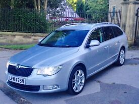 2012 62 Skoda Superb Elegance 2.0 Tdi Cr 170 DSG Semi - Auto Silver**FULLY LOADED****Facelift**