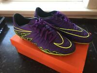 Nike hypervenom football boots new size8