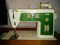 Singer Sewing Machine - Within cabinet