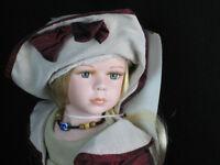 Leonardo Collection Jessica Porcelain Doll LP2416