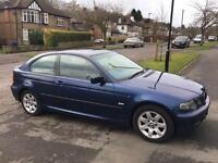 BMW 316ti COMPACT - BLUE