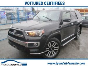 2017 Toyota 4Runner LIMITED 7 PASS, JBL, NAVI. CUIR, TOIT, COMME