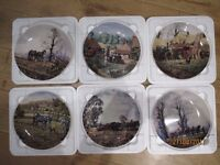 """Wedgewood """"The Farm-Yard"""" Collection by Michael Herring, Danbury Mint"""