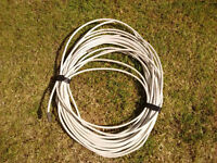 Co axial TV aerial extension cable with both fittings home caravan motorhome camper