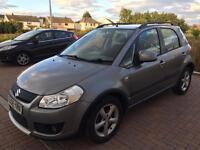 Suzuki sx4 4wd 1.6dt diesel ddis 08reg fsh 74k £30 road tax
