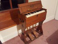 Portable Harmonium R F Stevens (Vintage Antique Organ)