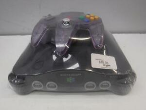 Nintendo 64 Console + Translucent Purple N64 Cont. - We Buy and Sell Vintage Video Games - 3981 - OR109405
