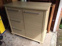 Mamas & papas horizon dresser - chest of drawers - mini wardrobe