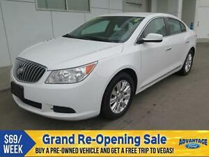2013 Buick LaCrosse eAssist Comfortable Seating.