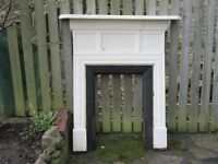 Victorian Cast Iron Fire Surround with Mantel