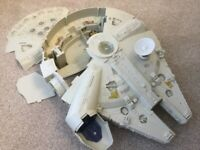 Vintage Kenner 1979 Star Wars Millennium Falcon - Incomplete but popular spares