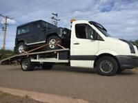 24/7 Vehicle Recovery & Transportation Local National Short Notice Copart Scrap Vehicles Uplifted
