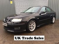 2005 SAAB 9-3 SPORT 2.0T AERO 4dr *** 11 MONTHS MOT *** similar to megane golf vectra civic astra