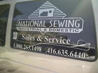 Sewing Machines - Repair, Sales & service - Domestic/Industrial
