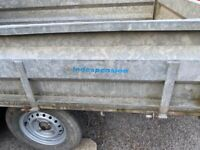 Indespension Trailer Tipper Tow Ball Trailor Tipping