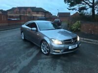 2012 Mercedes Benz C220 Coupe AMG - HPI Clear