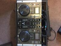 Dj dex,mixer & speaker kit