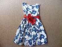 Girls Joules Dress Aged 5-6 Years