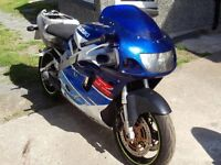 Suzuki GSXR 750 SRAD engine (fuel injection) 1999 £350. 07870516938