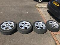 Vw alloys with good tyres